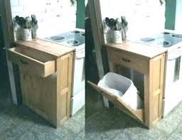 Cabinet Pull Out Trash Can Drawer Bin Under