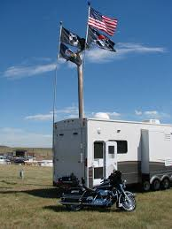 portable 22ft telescopic fiberglass rv flag pole windsock pole 4