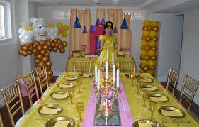 Belle Birthday Decorations Home Decorating Ideas Beauty and the Beast party room 12