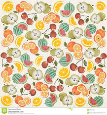 fruit wallpaper pattern. Contemporary Wallpaper Retro Vintage Style Wallpaper With Fruits With Fruit Wallpaper Pattern S