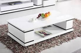strassen 1 3m white gloss coffee table