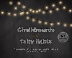 Chalkboard Background Chalkboards And Fairy Lights Chalkboard Backgrounds Fairy Etsy
