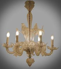 small 1940 s murano glass chandelier chandeliers lighting galerie des minimes