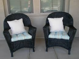 excellent ideas black wicker furniture sweet interesting chair cushions on cozy lowes