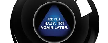 Image result for magic eight ball