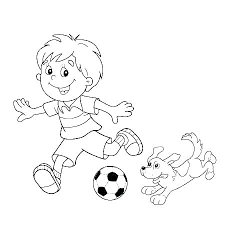 Soccer Player Coloring Pages Printable Soccer Coloring Pages Free