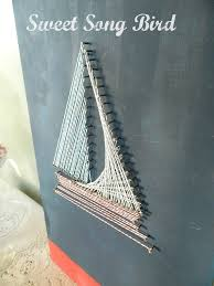 How To Do String Art Try This Diy String Art Four Generations One Roof