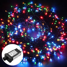 Dimmable Christmas Lights Excelvan Safe Low Voltage 500 Leds 100m 328ft Dimmable Fairy