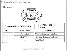 2 wire alternator diagram wirdig 2001 chevrolet tracker alternator harness wiring 2001 tracker i