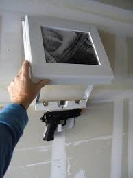 wall art picture with hidden compartment