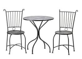 black iron outdoor furniture. interesting iron garden outdoor patio porch deck black metal bistro trio table 2 for iron furniture