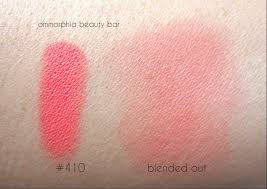 mufe 410 blush swatch 2
