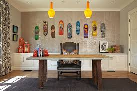fun ideas for the office. Fun And Colorful Home Office Decorating Idea Ideas For The I
