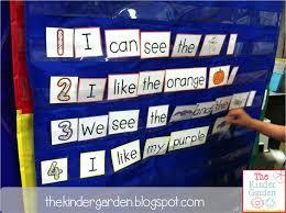 Sight Word Sentence Pocket Chart Activities Sight Word