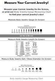 Body Measuring App Online Body Jewelry Measure App Bodysparkle Body Jewelry Blog