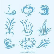 water splash vector illustration. Perfect Vector Water Splashes Pack In Splash Vector Illustration H
