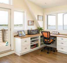 Coastal Maine - Beach Style - Home Office - Portland Maine - by  trentbellphotography