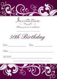 50th birthday invitations free printable 50th birthday party invitations canon 6d camera tips