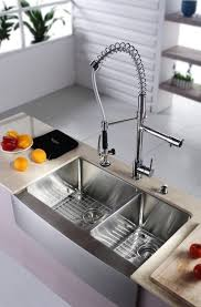 contemporary kitchen sink faucets. contemporary kitchen:smart kitchen faucets ideas for elegant sink 33 inch farmhouse double bowl c
