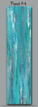 turquoise office decor. Large Abstract Wall Art For Gray, Teal, And Turquoise Home Or Office Decor By R