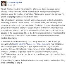 praise outrage tears over alex tizon s slave story the filam chrissi