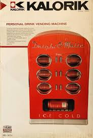 Drink O Matic Personal Vending Machine Fascinating Personal Drink Vending Machine Drink O Matic By Kalorik New In Box