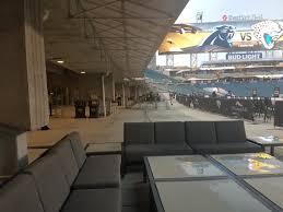 Jacksonville Jaguars Club Seating At Tiaa Bank Field
