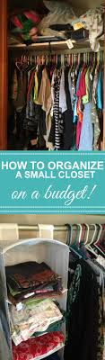 closet organization tips on a budget with organization storage solutions