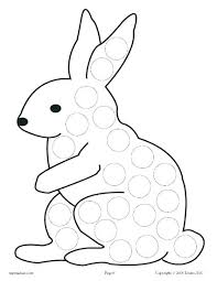 Free Marker Coloring Pages Free Dot Marker Coloring Pages Packed