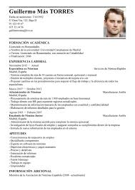 modelo curriculum ideas of curriculum vitae formato pdf mexico for your modelo de