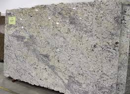 View in gallery Large slab of white ice granite