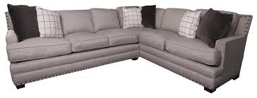 nailhead sectional sofa. Delighful Sectional KinseyKinsley Sectional Sofa  In Nailhead