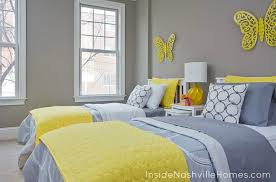 yellow and gray bedroom: interesting yellow and grey bedrooms with yellow and gray bedroom with gray walls gray and yellow bedrooms