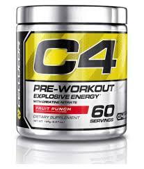 13 nutrition cellucor c4 pre workout fruit punch 360 gm
