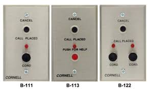 bedside stations & call cords cornell communications emergency Wiring Diagram For Nurse Call System b 111, b 113, b 122 wiring diagram for nurse call systems