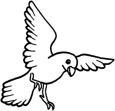Bird Printable Coloring Pages Baby By Free Nest Helpstudentloansinfo