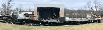Pollstar Historic Merriweather Post Pavilion Roof Collapses