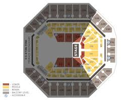 Stock Show Rodeo Seating Chart Seating Charts Att Center