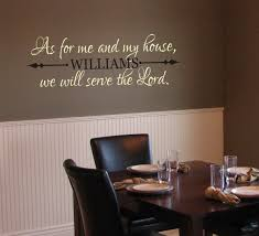 dining room printable art. My House We Will Serve Lord Rhcom Vinyl Dining Room Art Religious Wall Decals As For Printable
