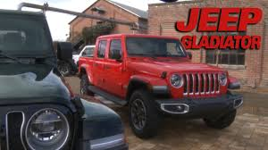 Jeep Design Checks Howard Checks Out The Jeep Gladiator Motoring Tv