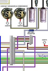 norton commando mk colour electrical wiring diagram norton commando mk2 colour wiring diagram
