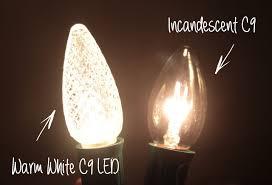 Christmas Lights That Look Like Light Bulbs Christmas Lights Smackdown Warm White Led Vs White