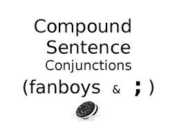 Compound Sentences Fanboys And Semicolon Anchor Chart Posters