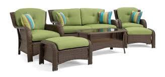 outdoor wicker patio furniture. Sawyer 6 Piece Resin Wicker Patio Furniture Conversation Set (Cilantro Green) Outdoor
