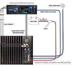 sub amp wiring diagram the wiring diagram dual amplifier wiring diagram nilza wiring diagram
