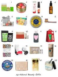 20 natural and organic beauty gift ideas