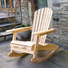 charming rocking chair outdoor indoor wooden rocking chairs popular com chair outdoor natural fir wood