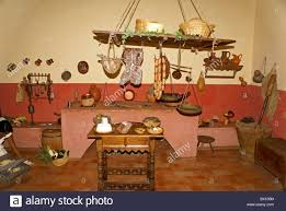 Mexican Kitchen Replica Of A Traditional Mexican Kitchen Or Cocina Museo