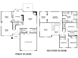 2 story house layout ideas designs small two 2 story house floor plans elegant a 5