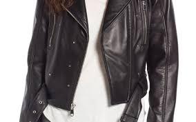 sam edelman sam edelman starburst studded crop moto jacket outerwear